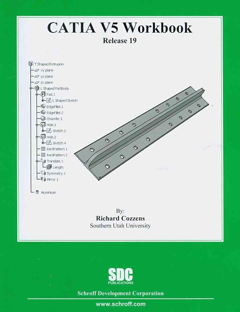 Catia V5 Workbook By Cozzens, Richard